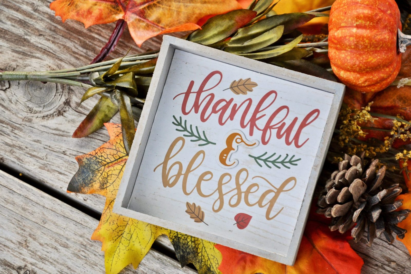 Always Give Thanks!